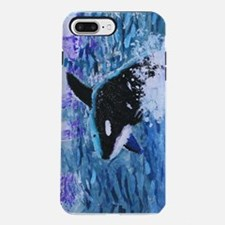 Killer Whale Painting iPhone 7 Plus Tough Case