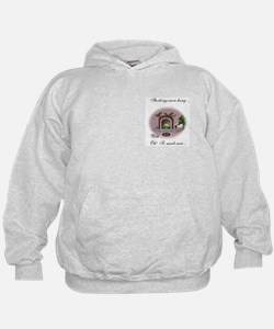 Pygmy Goat Christmas Stockings Hoodie