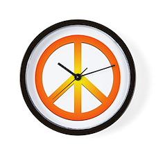 Peace! Wall Clock