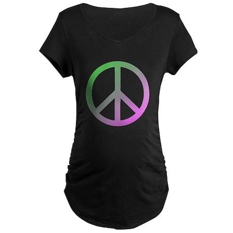 Peace! Maternity Dark T-Shirt