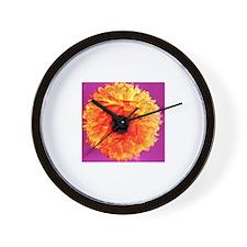 NEON DAISY Wall Clock