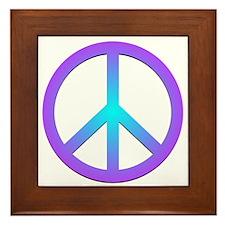 Peace! Framed Tile