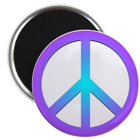 """Peace! 2.25"""" Magnet (100 pack)"""