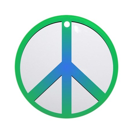 Peace! Ornament (Round)