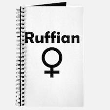 Ruffian Female Symbol Journal