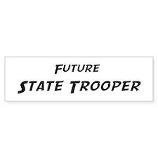 Future State Trooper Bumper Car Sticker