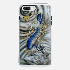 Funny Japanese geisha iPhone 7 Plus Tough Case