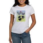 Plymouth Rock Rooster, Hen & Women's T-Shirt