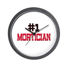 Number 1 MORTICIAN Wall Clock