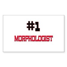 Number 1 MORPHOLOGIST Rectangle Decal