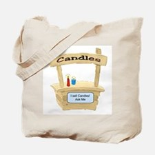 Cute Candles Tote Bag