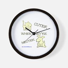 Cuter Wall Clock
