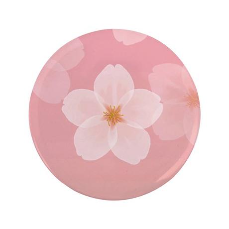 "Cherry Blossom 3.5"" Button"