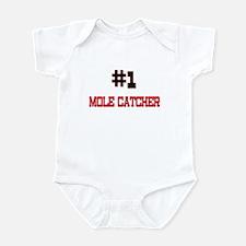 Number 1 MOLE CATCHER Infant Bodysuit