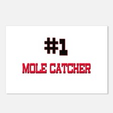 Number 1 MOLE CATCHER Postcards (Package of 8)