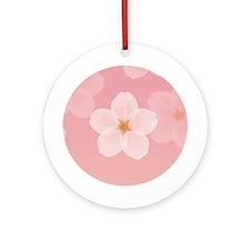 Cherry Blossom Ornament (Round)
