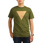 Sunny Triangle Knot Organic Men's T-Shirt (dark)