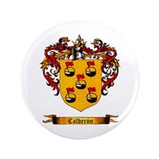 "Calderon Shield 3.5"" Button"