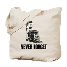 Never Forget Antique Cameras Tote Bag