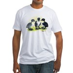 Swedish Duck Ducklings Fitted T-Shirt