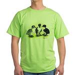 Swedish Duck Ducklings Green T-Shirt