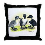 Swedish Duck Ducklings Throw Pillow