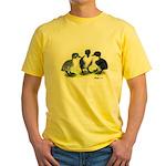 Swedish Duck Ducklings Yellow T-Shirt