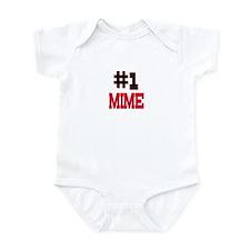 Number 1 MIME Infant Bodysuit