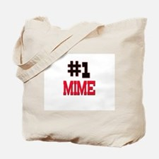 Number 1 MIME Tote Bag