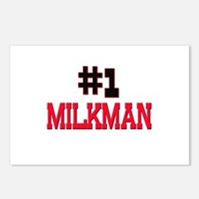 Number 1 MILKMAN Postcards (Package of 8)