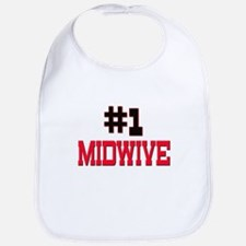 Number 1 MIDWIVE Bib