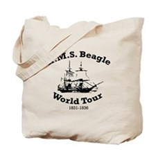 HMS Beagle world tour Tote Bag