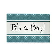 It's a Boy Rectangle Magnet