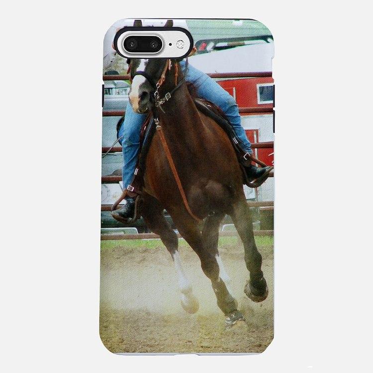 Barrel Race Horse iPhone 7 Plus Tough Case