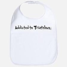 Addicted to Triathlons Bib