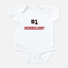 Number 1 MICROBIOLOGIST Infant Bodysuit