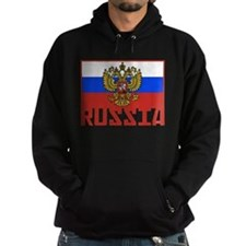 Russian Flag Hoody