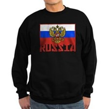 Russian Flag Jumper Sweater