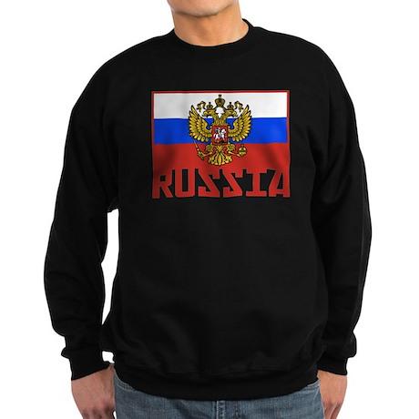 Russian Flag Sweatshirt (dark)