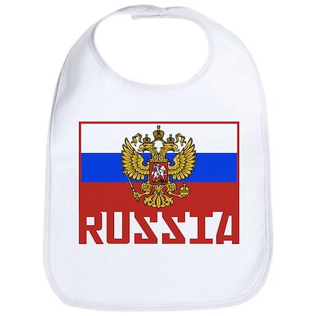 Russian Flag Bib