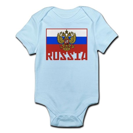 Russian Flag Infant Bodysuit