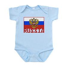 Russian Flag Infant Bodysuit