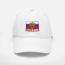 Russian Flag Baseball Baseball Cap