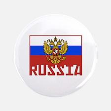 "Russian Flag 3.5"" Button"