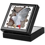 Parrots Keepsake Box