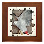 Parrots Framed Tile