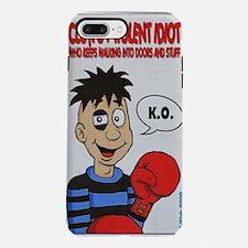 Clumsy Violent Idiot. iPhone 7 Plus Tough Case