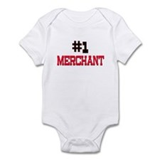 Number 1 MERCHANT Infant Bodysuit