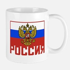 Russian Flag Mug