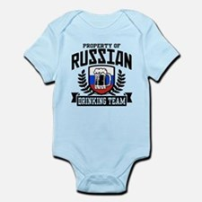 Russian Drinking Team Infant Bodysuit